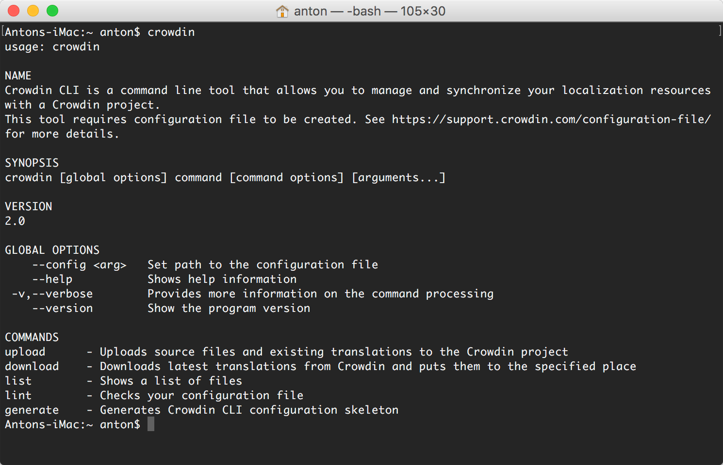 Android Language Project Tool Download console client (cli) | crowdin documentation