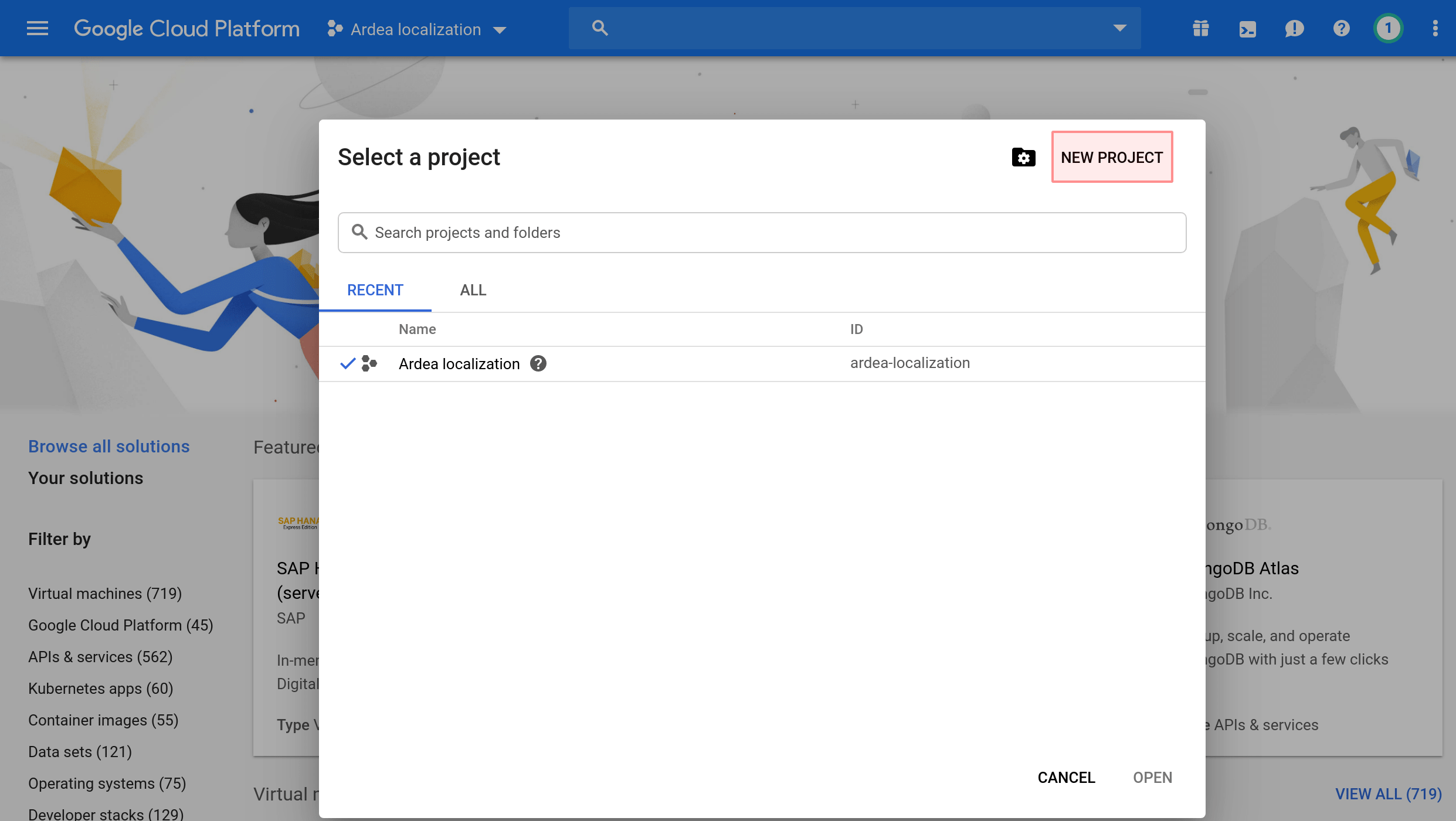 Google Cloud Projects