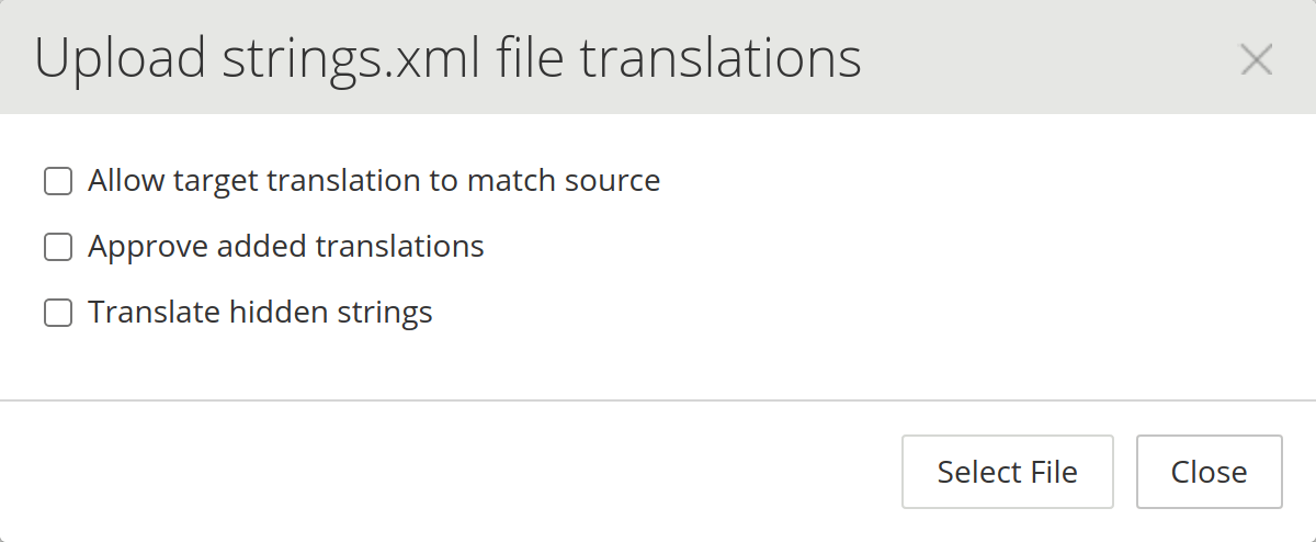 Offline Translation | Crowdin Documentation