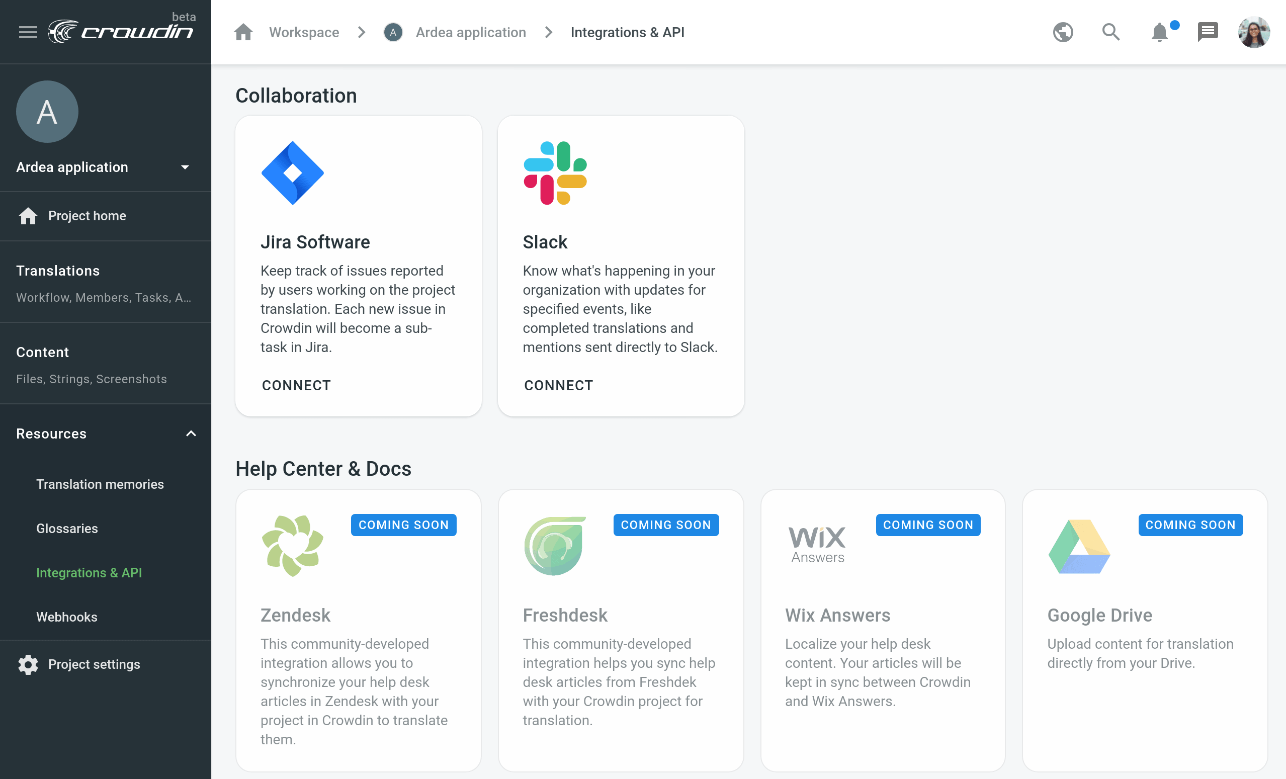 Connect Jira